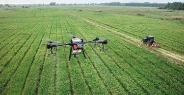 DJI permetezés drónnal