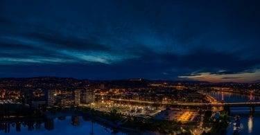 Budapart légifotó