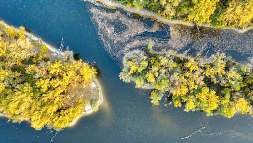 Duna drónfotó