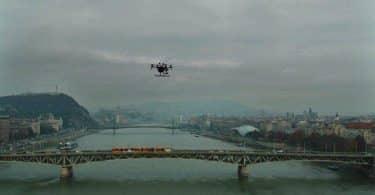 Petőfi-híd drónfotó