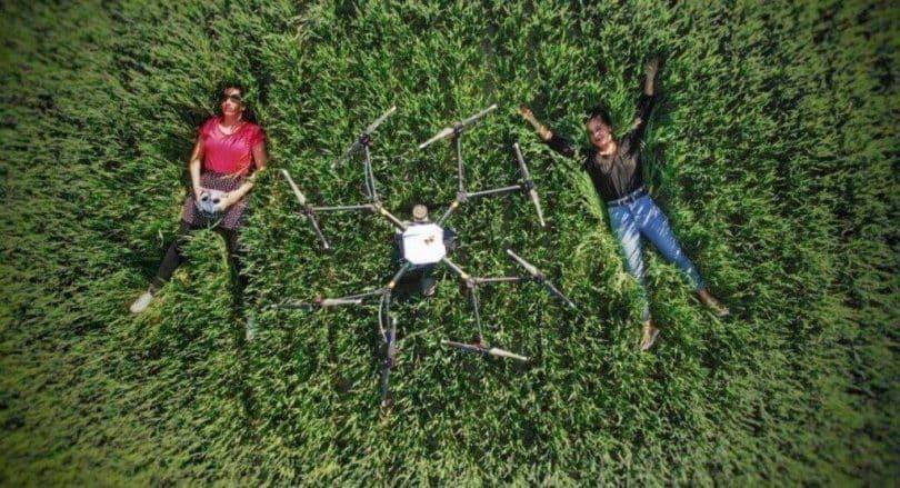 Locsolós - permetező drón