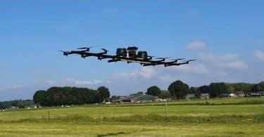 Drone4Agro permetező drón