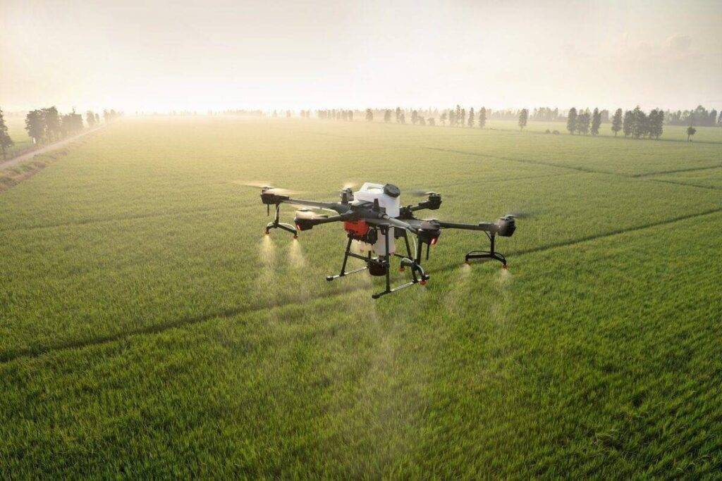 DJI permetező drón