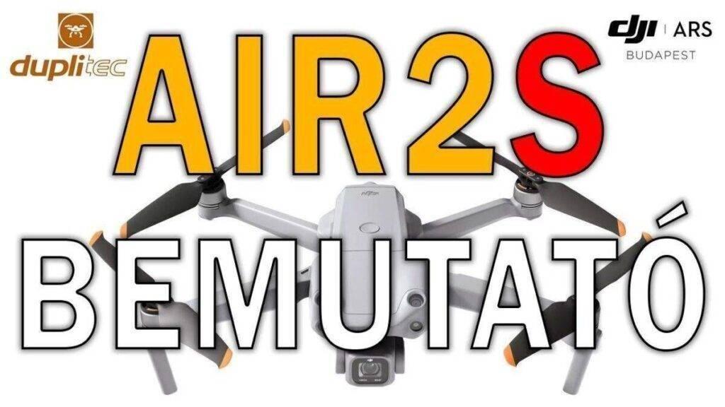 DJI Air 2 S bemutató