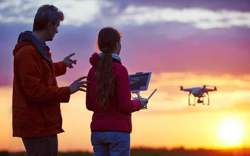 drónilóta képzés