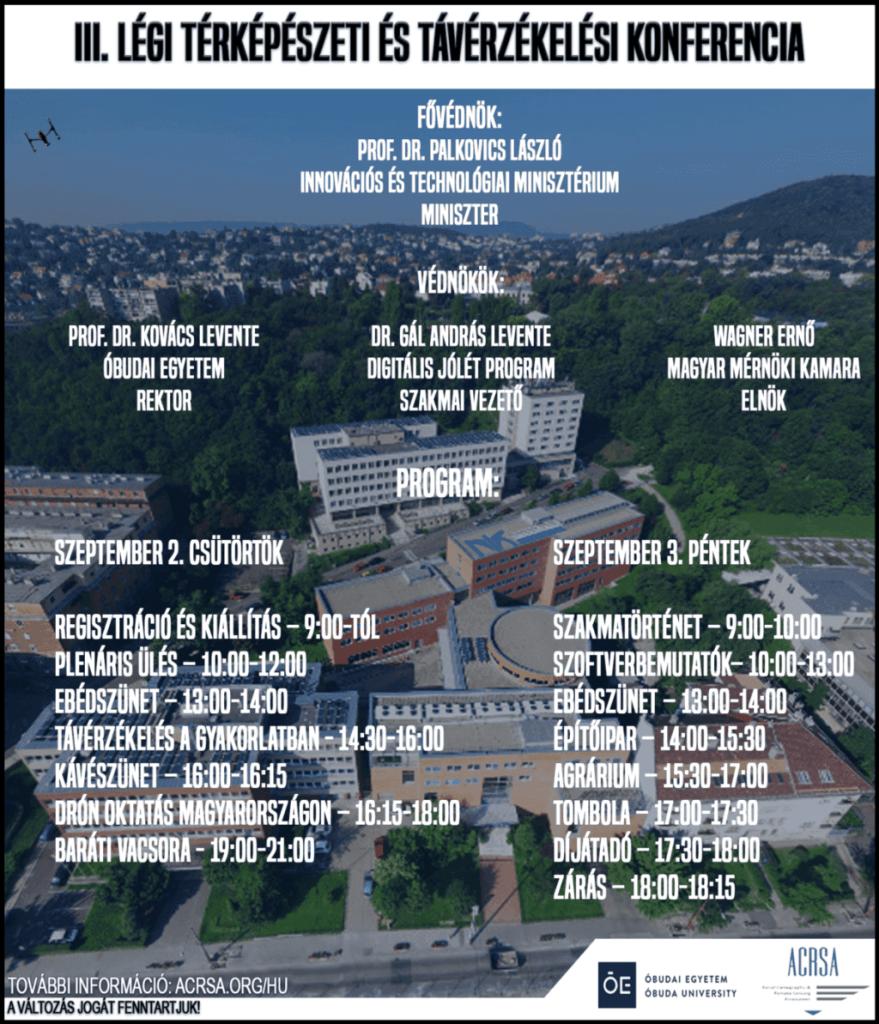 III. Légi Térképészeti és Távérzékelési Konferencia
