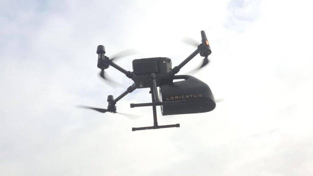 drón szállítódoboz