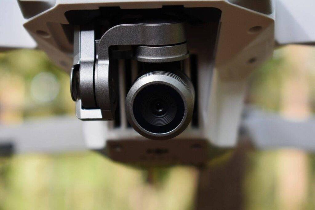 drón kamera